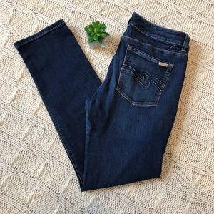 {WHBM} Blanc Slim Ankle Jeans